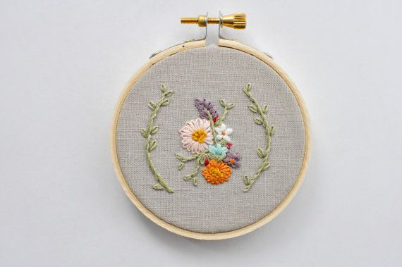 Hoop Art by The Vintage Gold Finch