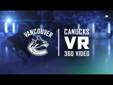 Canucks VR 360 Experience - YouTube