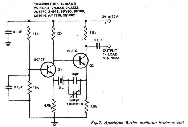 Understanding Crystal Oscillator Circuits Circuit Projects