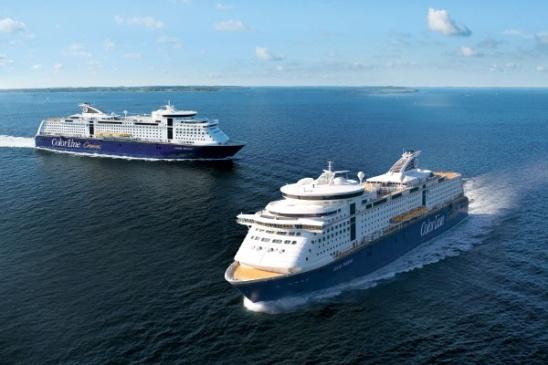 Cruiseopplevelse til Kiel med Color Magic og Color Fantasy.