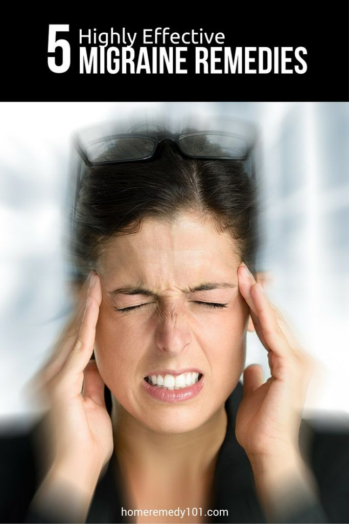 5 Highly Effective Migraine Remedies http://homeremedy101.com/5-highly-effective-migraine-remedies/