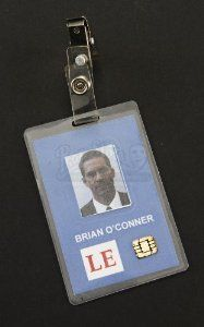 #Paul Waker will be missed Original Movie Prop - Fast & Furious Brian O'Connor's (Paul Walker) FBI ID Badge