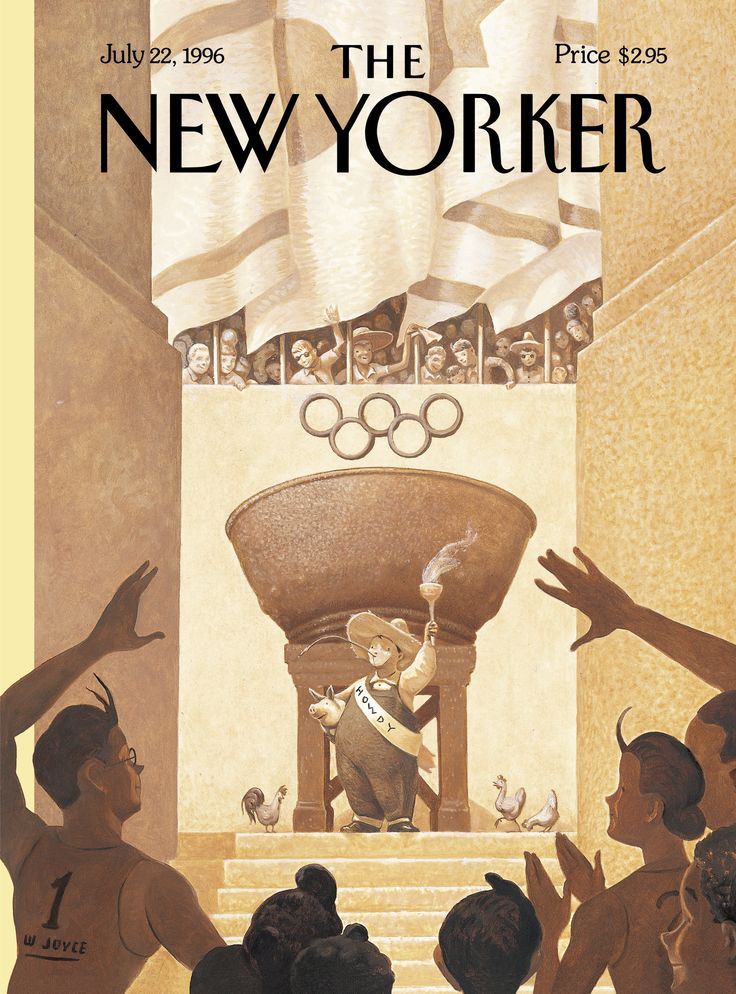 free running shoe The New Yorker   Monday  July 22  1996   Issue   3714   Vol  72   N   20   Cover   Too Busy City   by William Joyce