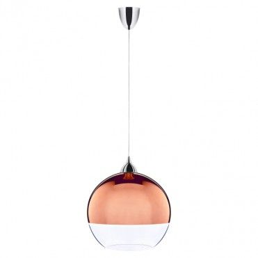Lampa wisząca Globe M Copper 1 x 60 W E27