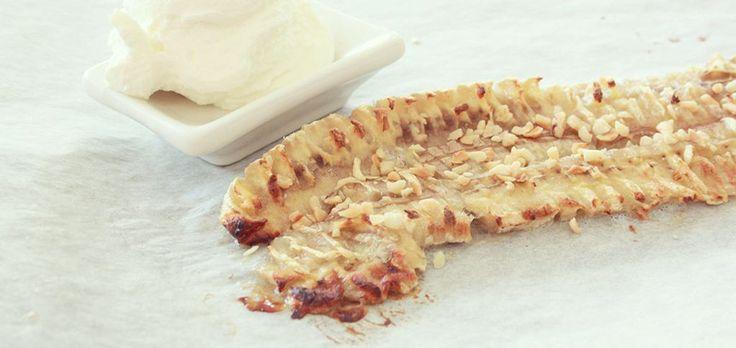 ROSTAD BANAN SMASH =) #hälsosam #efterrätt #hälsosamt #snack #rostadbanan #cleaneating