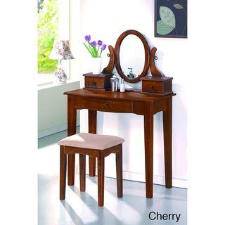 Katrell 2-piece Bedroom Vanity Set | Overstock.com Shopping - The Best Deals on Bedroom Mirrors