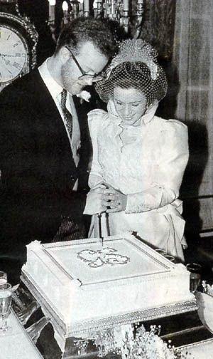 | George Windsor, Earl of St Andrews & Sylvana Tomaselli