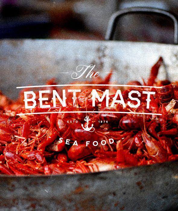 "The Bent Mast - ""Vintage Sea Food Restaurant Label/Badge"" Buy from - http://graphicriver.net/item/premium-quality-8-vintage-labels-col-n4/6361247?WT.ac=portfolio&WT.seg_1=portfolio&WT.z_author=SAOStudio"