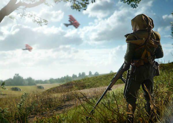 explorador en battlefield 1