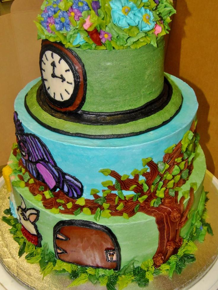 Alice In Wonderland Door For Cakes Ideas