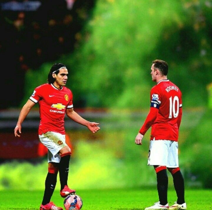 Falcao And Rooney