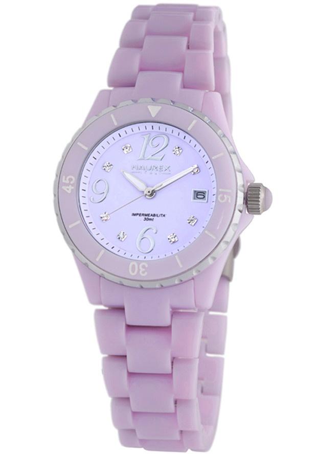 Price:$149.06 #watches Haurex PL342DL1, Haurex Italy Make Up Women's Purple Watch