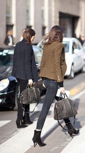 team Vogue Paris on the move... #CapucineSafyurtlu & #EmmanuelleAlt in their home town.