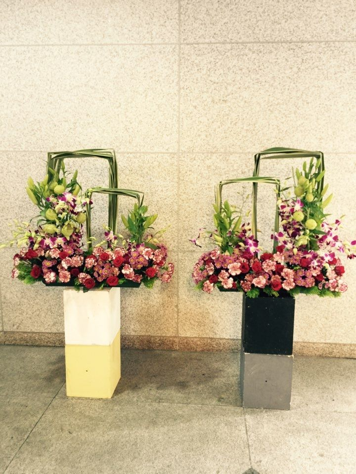 Church flower arrangement flowers pinterest