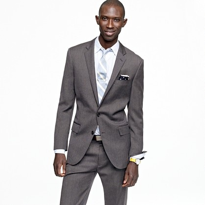 JCrew - Ludlow suit is one of the better fitting suits out there right now if you're into slim fit.