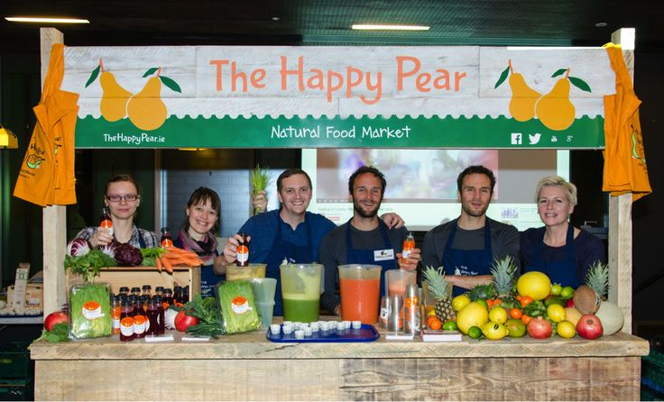 We setup a rocking juice bar one morning in Google HQ Dublin to juice it up for all the Googlers :)