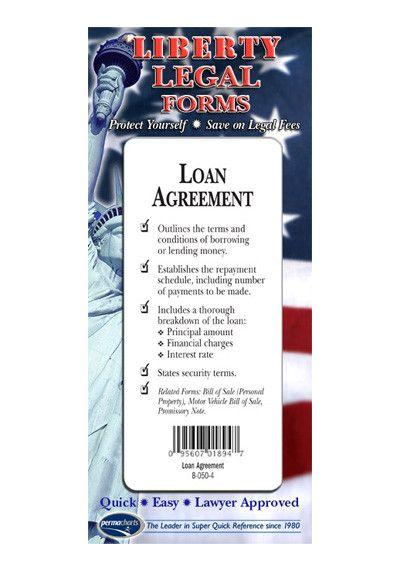 Loan Agreement - USA