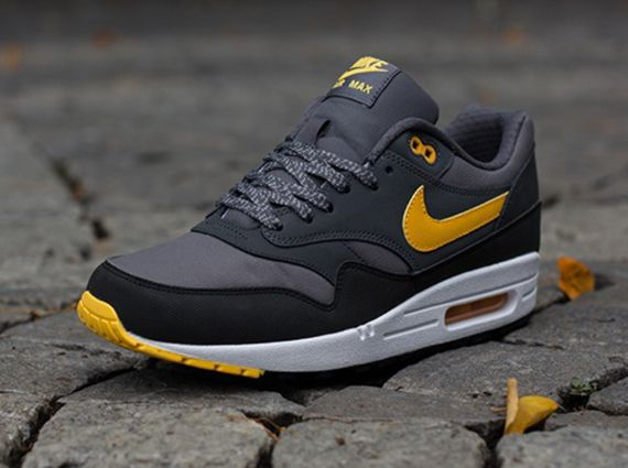 nike air max 1 dark grey orange anthracite wheels
