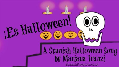 Halloween song in Spanish for kids! The contemporary beat of Es Halloween will rock Spanish learners as they learn spooky vocabulary. Lyrics in the post.