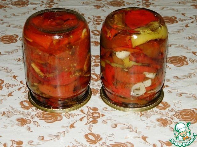 Вяленый болгарский перец на зиму ингредиенты
