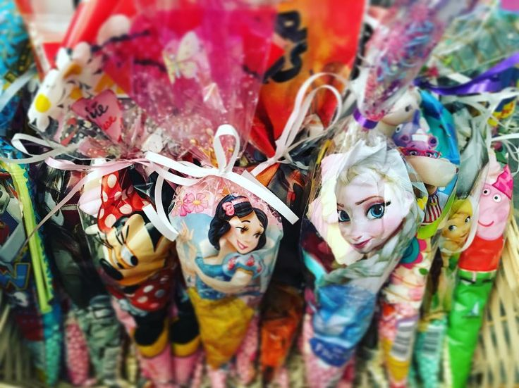 Paw Patrol, Minnie Mouse, frozen, Disney princess, Star Wars, the avengers, Spider-Man, peppa pig, doc mcstuffin, tinker bell and finding memo, candy cones for everyone ������❤️ @thesweettoothfairyco #theme #candycones #events #parties #birthdays #occasions #sweettooth #partybag #partyfavour http://butimag.com/ipost/1561511850415503556/?code=BWrmsE0lDjE