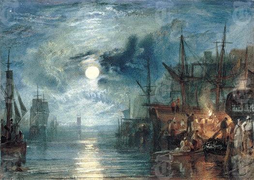 Shields, on the River Tyne - JMW Turner 1823