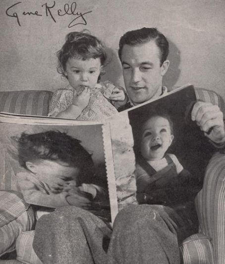 Gene Kelly and daughter