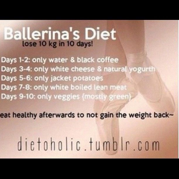 Ballerina Diet   Thinspiration Tips   Pinterest   Diet ...