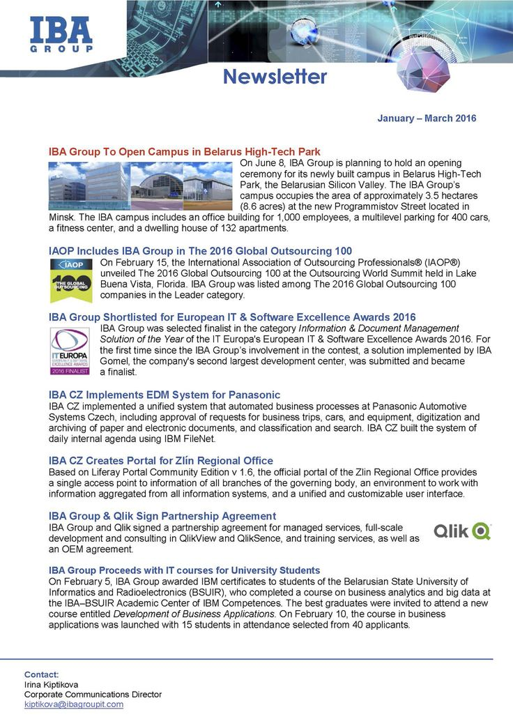 12 best IBA Group Newsletters images on Pinterest - management consulting agreement
