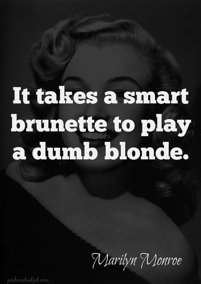 Dumb Blonde - TV Tropes