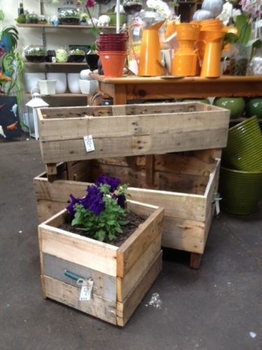 Raised Garden BED Planter BOX Wooden BOX Rustic Crate Vegie Patch Raised BED  In Melbourne,