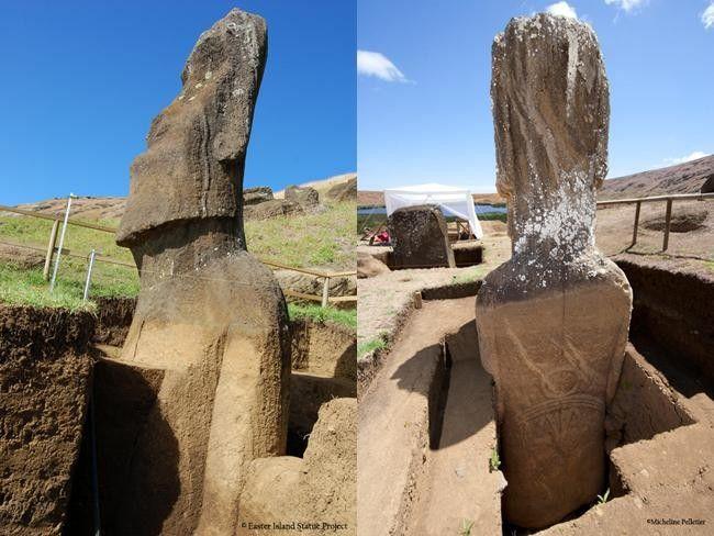 Het geheim achter deze miraculeuze moai-beelden op Paaseiland is ongelooflijk!