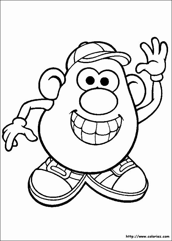 Mr Potato Head Coloring Page Beautiful Toy Story Mister Potato Head 4 Animation Movies In 2020 Toy Story Coloring Pages Cool Coloring Pages Coloring Pages