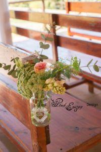 Pew flowers - Floral Design & Decor by www.pinkenergyfloraldesign.co.za
