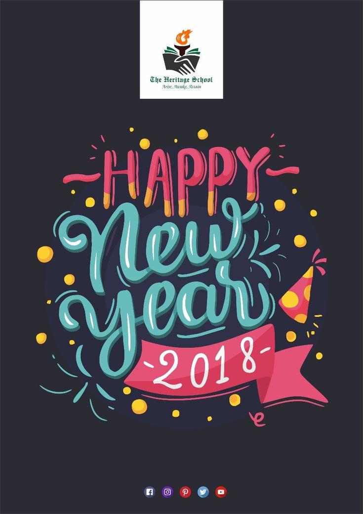 We wish you a very Happy and a Prosperous New Year!!  #TheHeritageSchool #Dehradun #School #Happynewyear