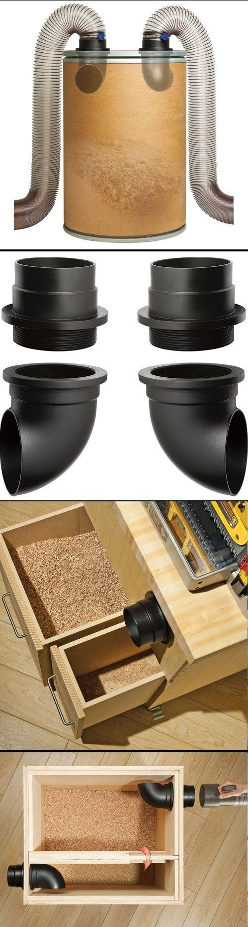 Dust separator box