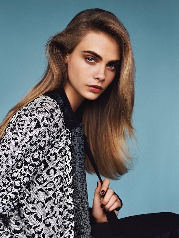 Cara Delevingne for Vogue UK January 2014  Photographer: Alasdair McLellan