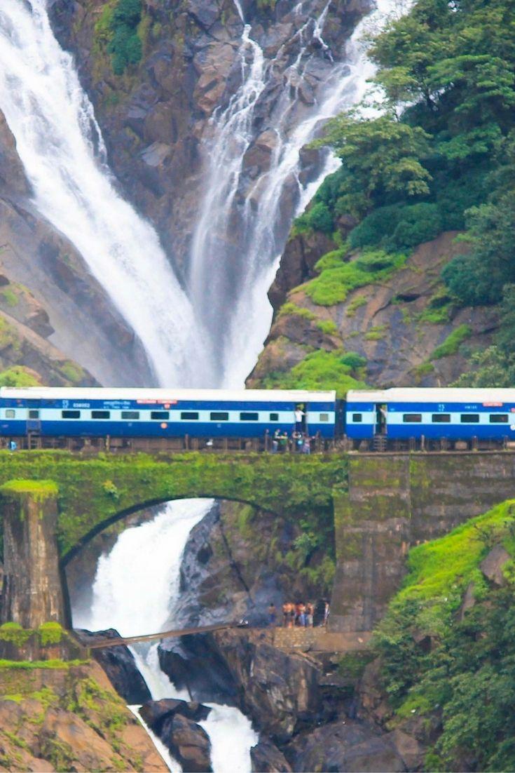 Travel Guide to Dudhsagar Falls, Goa