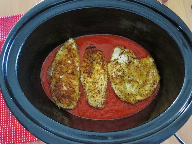 Easy chicken parmesan crock pot recipes