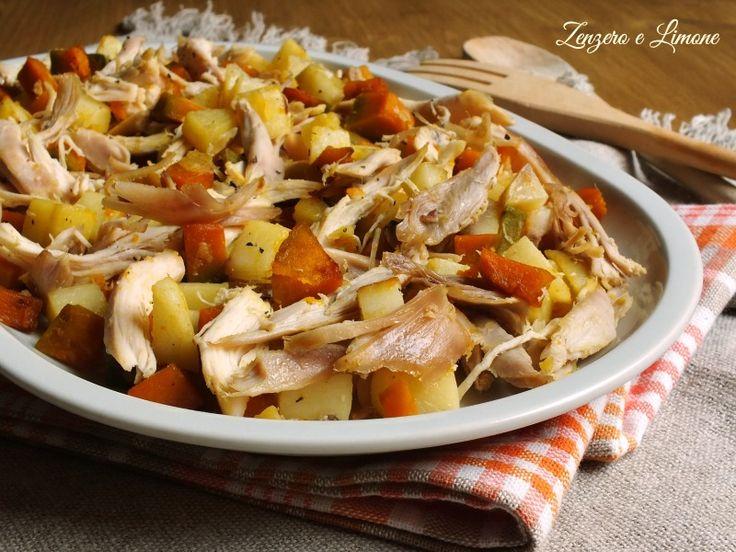 Insalata+di+pollo+patate+e+zucca