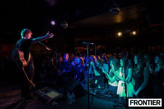 Ed Sheeran at Ding Dong Lounge, Melbourne | April 2014 | Credit: www.theartofcapture.com