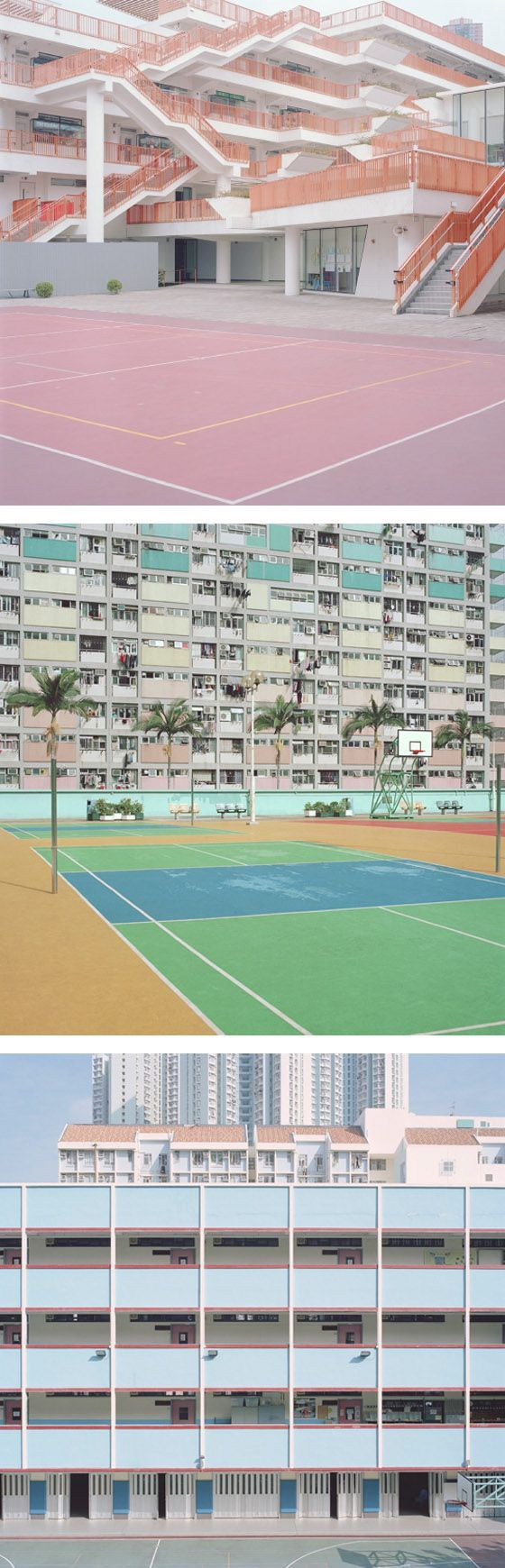 Courts by Ward Roberts - love the colours!