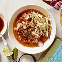 Beef Pozole (Stew) from Marcela Valladolid, 5 of 5 Stars, 25 Reviews | Food…