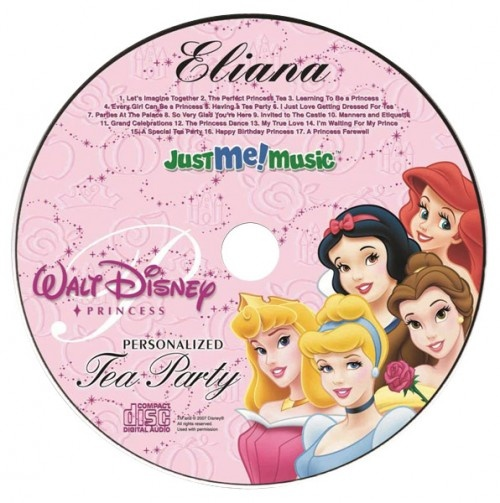1 Personalized Kids' Music CD.   Each CD features approximately 30 minutes of songs and dialogue, and your child's name will be sung or spoken 30-60 times (depending on which theme you choose).