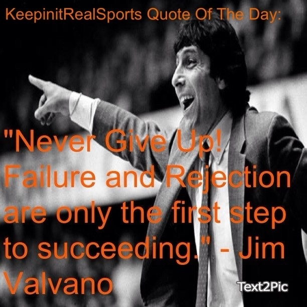 Persistence Motivational Quotes: 25+ Best Ideas About Jim Valvano On Pinterest