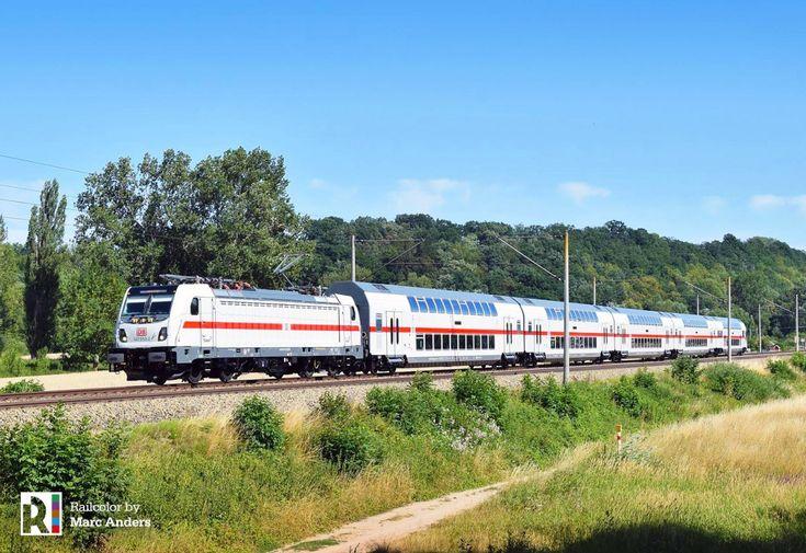 [DE] Deutsche Bahn IC2 with TRAXX AC3 (147) Train, Model