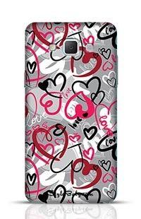 Love-Print Samsung Galaxy A7 Phone Case