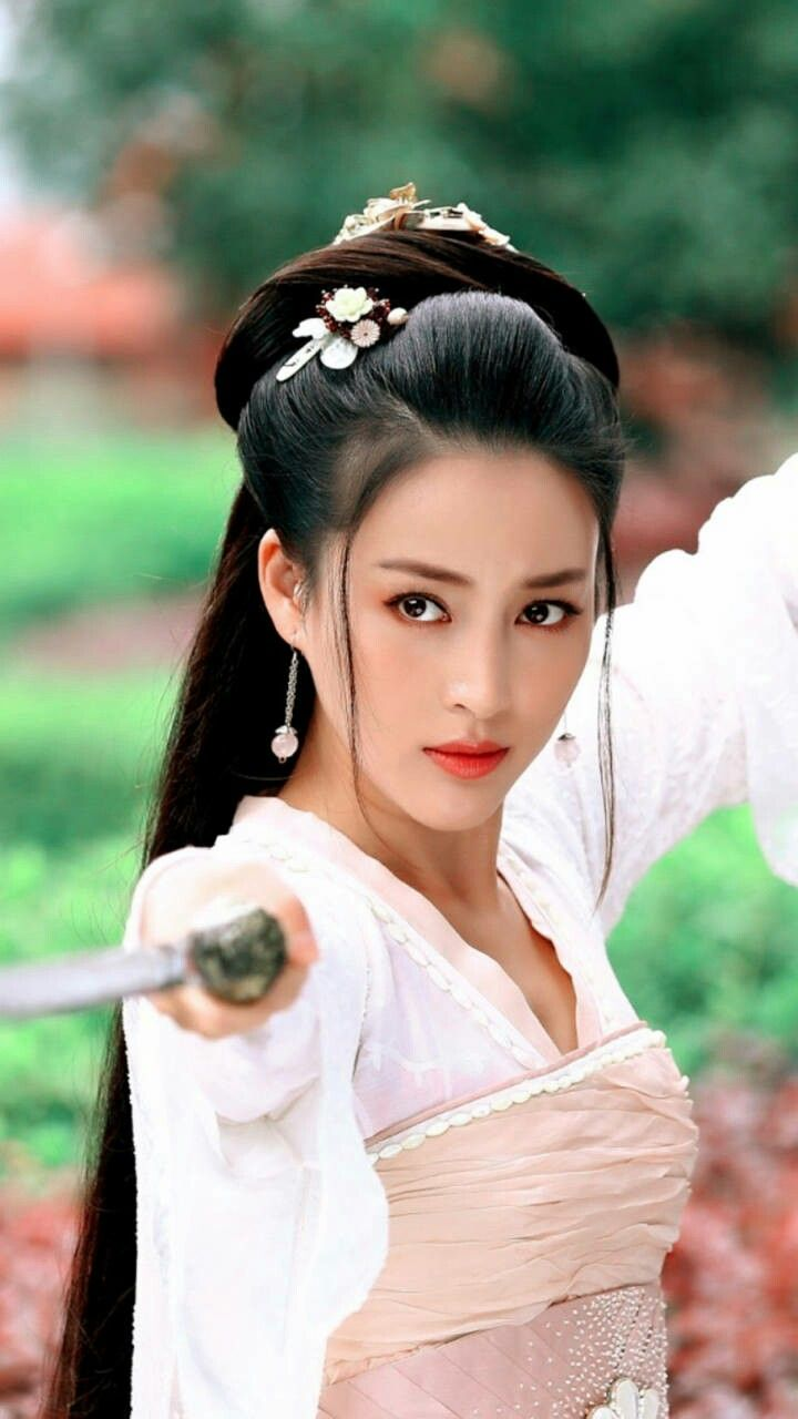 Diệp Truc Ninh Chinese Hairstyle Asian Beauty Chinese Hair Bun