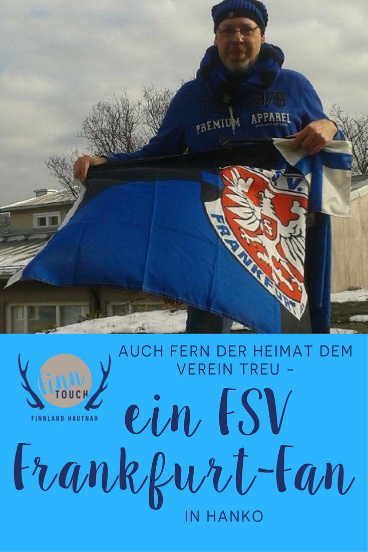 Auch fern der Heimat dem Verein treu – ein FSV Frankfurt-Fan in Hanko   #fsv #frankfurt #fussball #sport #finnland #fan #deutschland