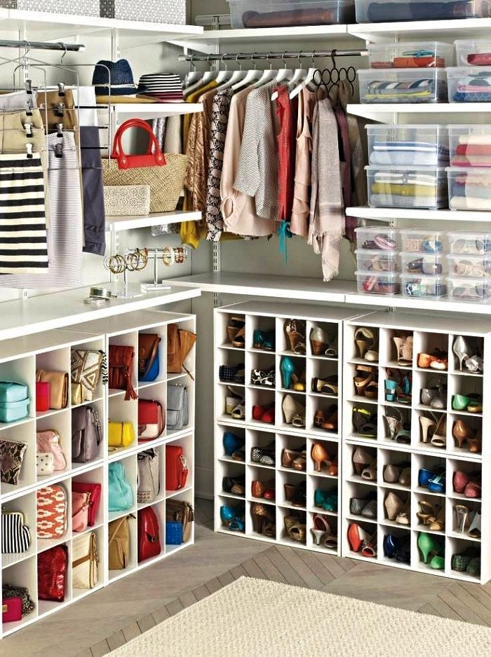 1001 Idees Pour Amenager Un Dressing A Chaussures Fabriquer Dressing Rangement Dressing Rangement Chaussures
